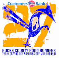 Customers Bank/BCRR Thanksgiving Day 5 Miler!