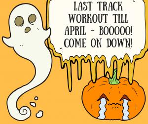 Last Track Workout Till April!