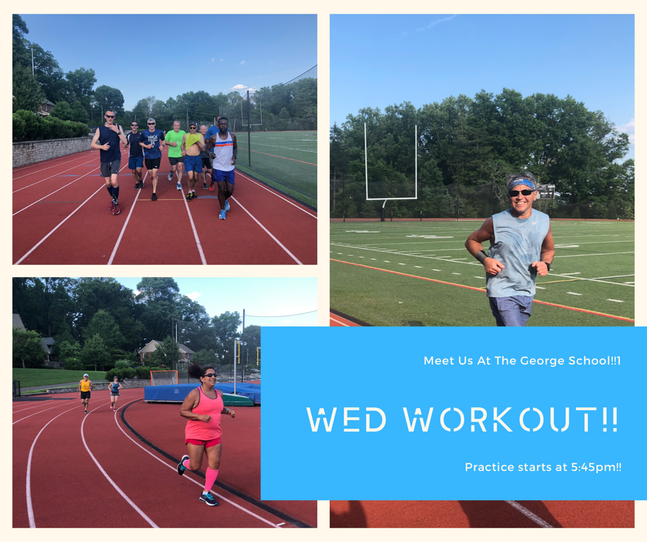 Wednesday Workout Details!