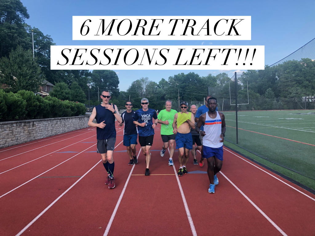 6 More Wed Night Track sessions!